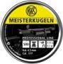 RWS Meisterkugeln 4,5mm ilmakiväärin luoti 500kpl