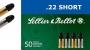 S&B .22 Short 50kpl